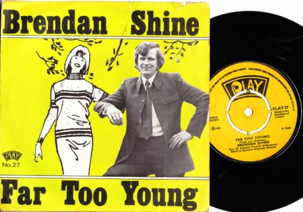 PLAY 027 - Brendan Shine - 1972 Picture Sleeve